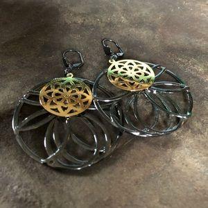 Sorrelli - Lotus Earring - Mimi Collection